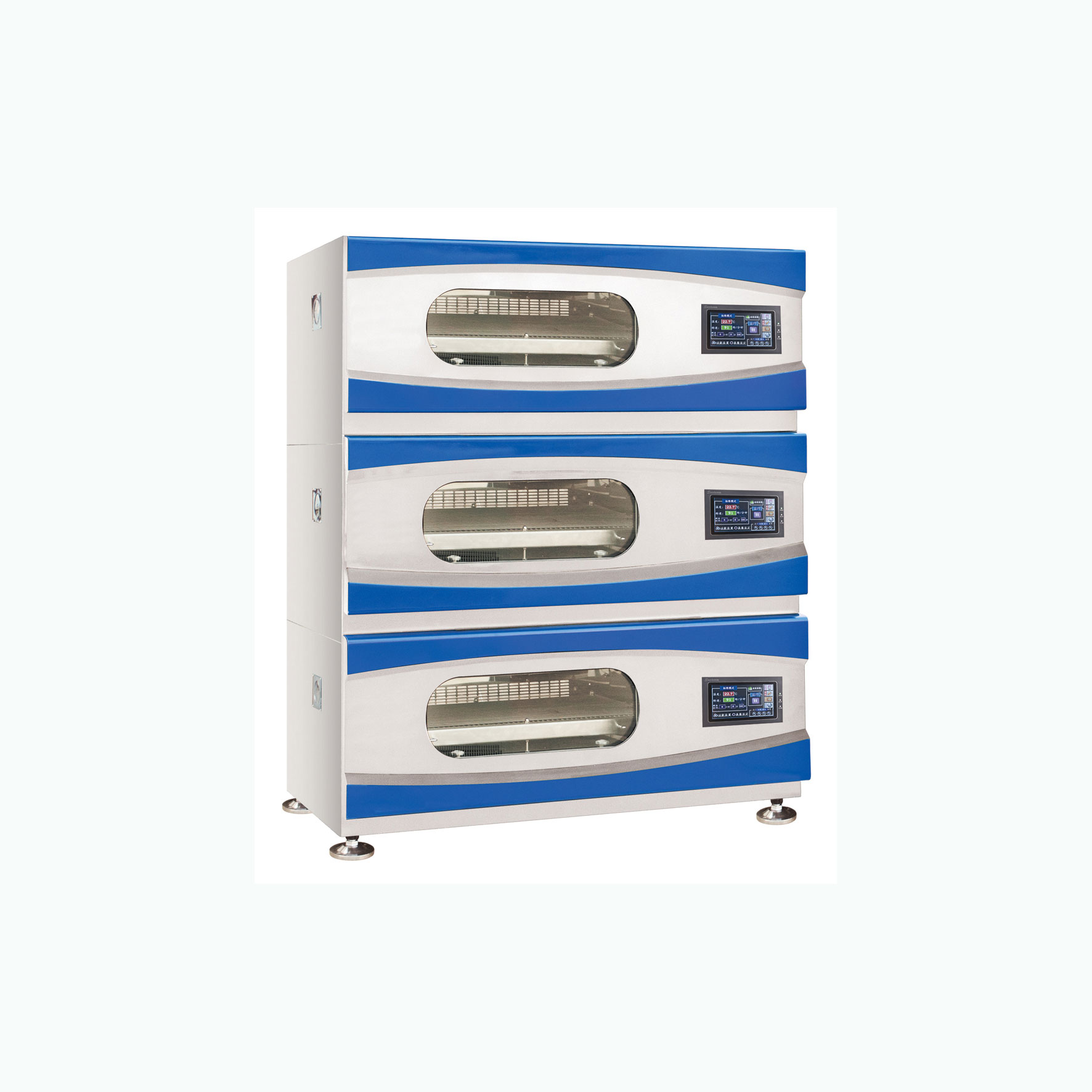 YJYC-110B触摸式彩屏叠加恒温培养振荡箱_上海跃进医疗器械有限公司
